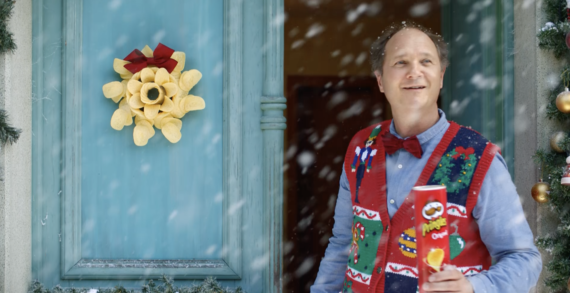 """Pringles declares """"Let's Celebrate"""" in new Christmas campaign by Grey London"""