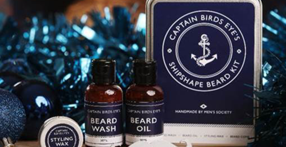 Captain Birds Eye Launches Beard Kit To Get Brits Looking Shipshape