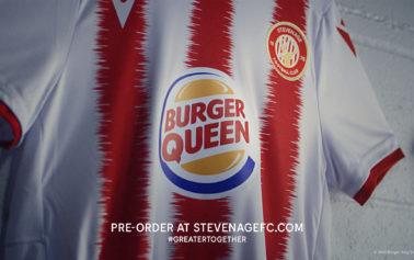 Burger King Changes Its Logo To Sponsor The Female Stevenage Football Club