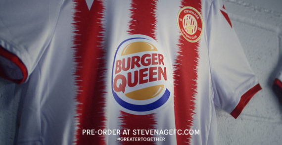Burger King Changes Its Logo To Sponsor The Female Stevenage Football Club