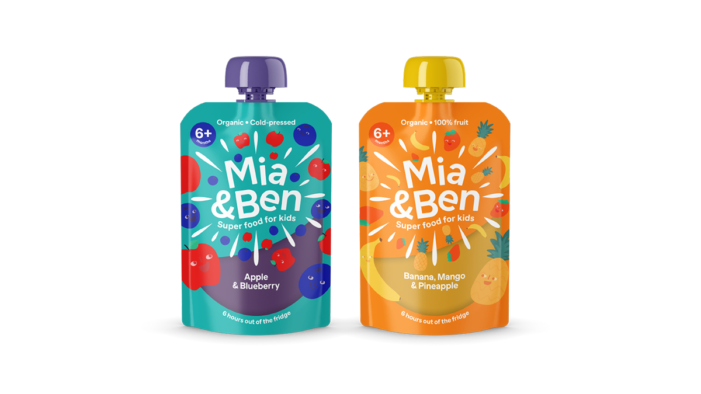 MIA & BEN Organic Children's Food Rebrands And Launches With New Lower Price