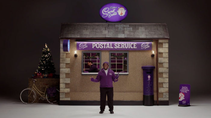 VCCP brings the Cadbury Secret Santa Postal Service online for 2020