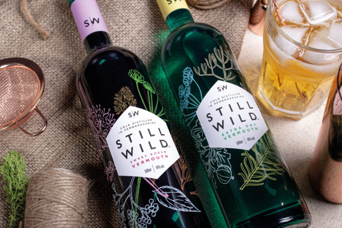 Design Activity has created a distinctive botanical design for drinks start-up Still Wild to reflect its organic nature.