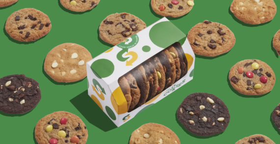 Subway rebrands classic cookies with new design from Above+Beyond