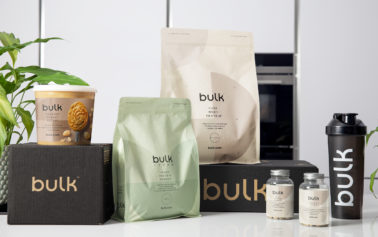 Robot Food reposition bulkTM as an aspirational active nutrition brand for every body