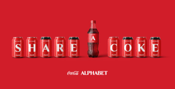 Coca-Cola and Wunderman Thompson want everyone to express for a better 2021 with a new packaging with letters of the alphabet.