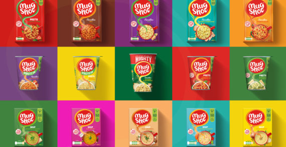 Mug Shot repositions to appeal to everyday snackers with design by Brandon.