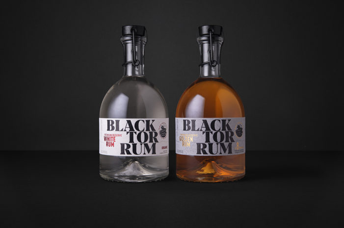 Buddy Create A Premium Brand And Bottle For Black Tor Rum