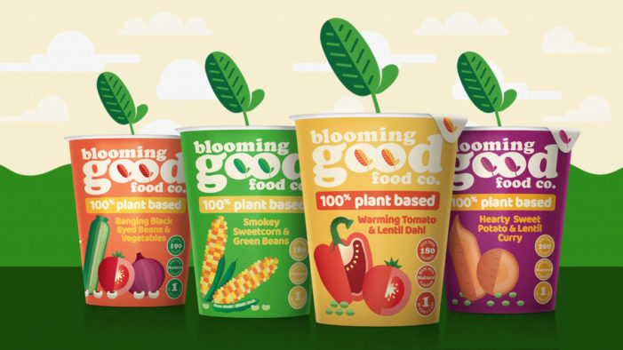 Symington's launches the Blooming Good Food Company with branding by Brandon