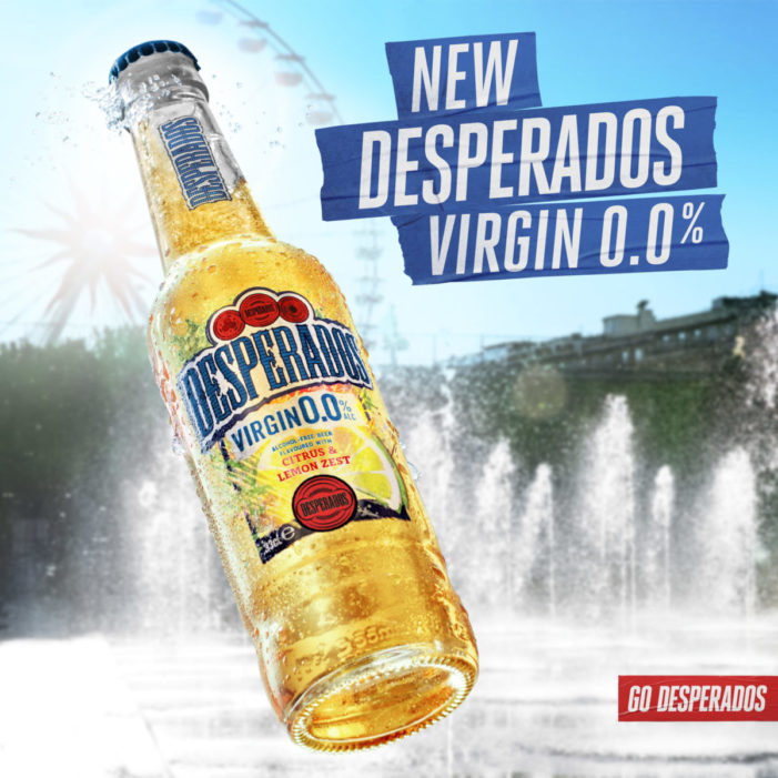 Desperados Launches First Alcohol-Free Innovation, Desperados Virgin 0.0%