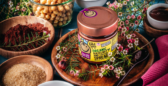 Fabalous Organic Hazelnut & Cocoa Spread Made With All The Goodness Of Chickpeas