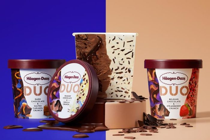TWO WORLDS COLLIDE –  Häagen-Dazs launches innovative DUO range