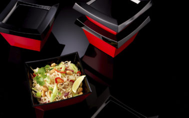 Designing a returnable and reusable takeaway packaging innovation.