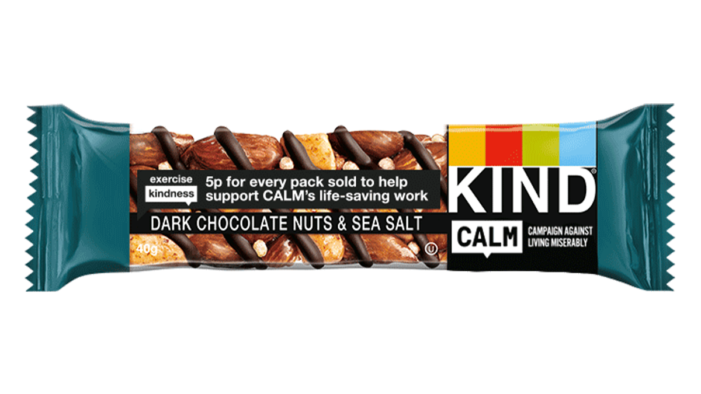 Kind Snacks Partners With Suicide Prevention Charity Calm For 2021
