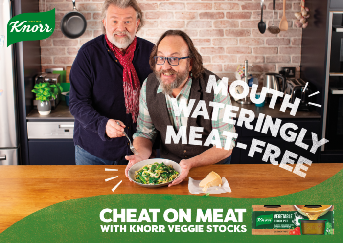 Knorr returns to TV screens for the first time in 3 years with its #CheatOnMeat campaign