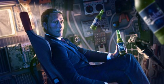 Carlsberg pursues better through alcohol-free beer in new ad with actor Mads Mikkelsen