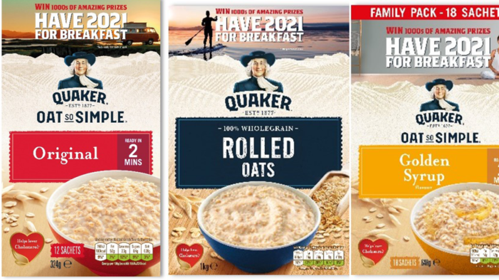 Quaker Inspires Shoppers To 'Have 2021 For Breakfast' As Part Of Its Latest Campaign
