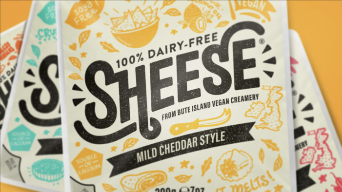 The Space Creative rebrands Sheese, bringing new consumers to the dairy-free cheese fixture