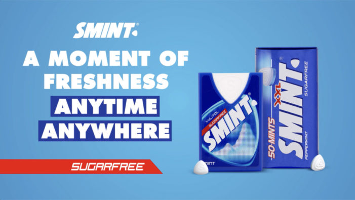 Smint highlights in-home consumption occasions with new Fresh Moments campaign