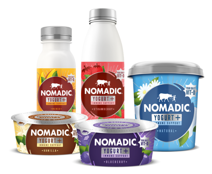 Nomadic Dairy Goes Vitamin D Positive For Yogurt