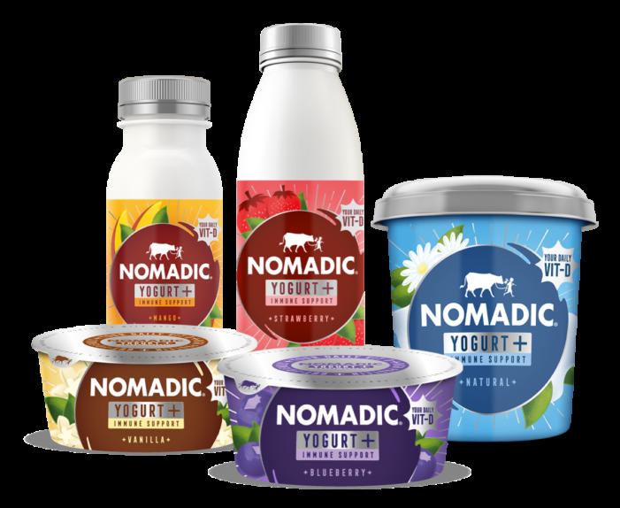 Nomadic Dairy Goes Vitamin D Positive For Yogurt