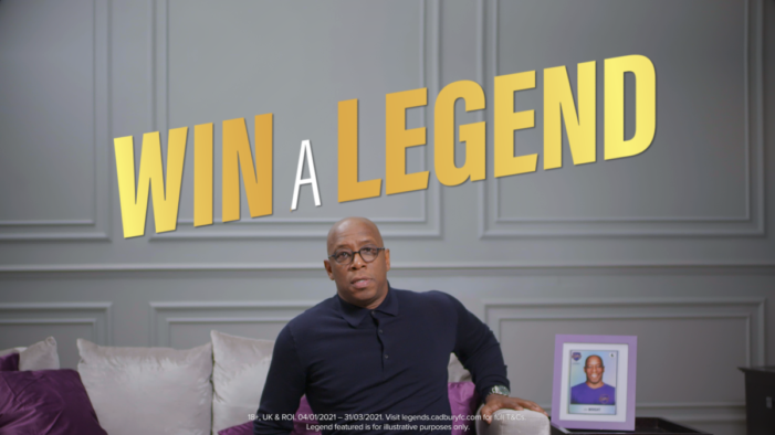 Cadbury partners with six of the nation's top football clubs for the return of Find a Legend, Win a Legend