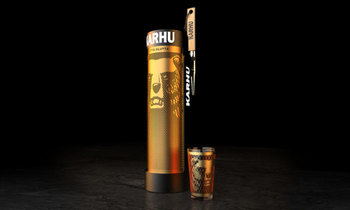 Bluemarlin embraces Finnish folklore to create new draught font for Karhu beer