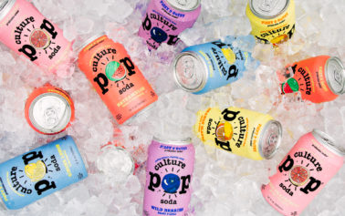 Culture POP Soda Launches With Packaging And Brand Identity By ROOK/NYC