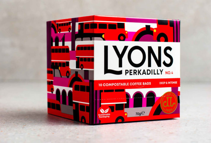 LYONS COFFEE REBRAND by Distil Studio