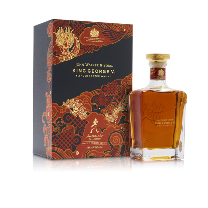 John Walker & Sons King George V Chinese New Year – A Limited Edition Pack by GPA Luxury