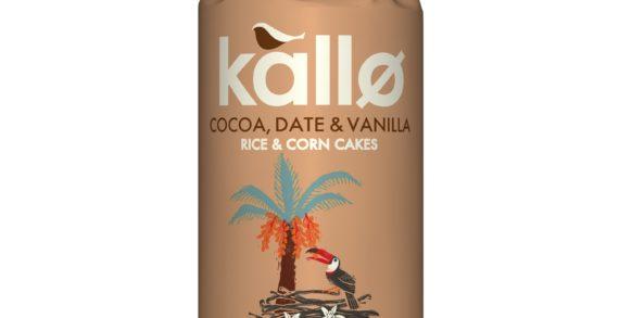 New KALLØ Cocoa, Date & Vanilla Rice & Corn Cakes To Hit Shelves