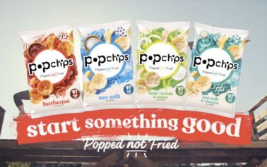 A small act of sharing has huge consequences in popchips television debut, created by St Luke's