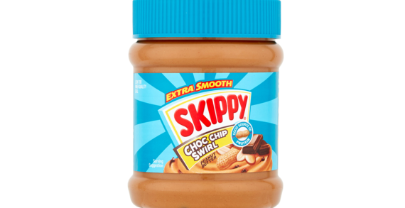 SKIPPY Peanut Butter gives Choc Chip a Swirl