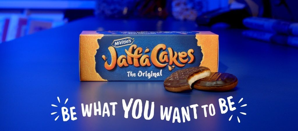 McVitie's Jaffa Cakes return to TV with launch of new 'Be What You Want To Be' platform