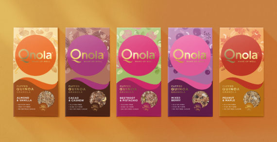Qnola's new identity by Sunhouse wakes up the breakfast category
