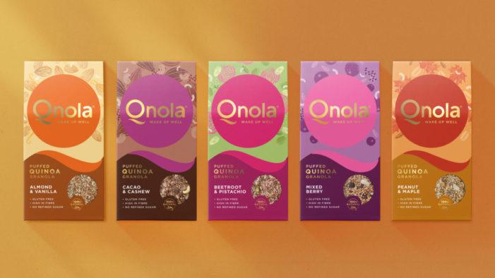 Qnola's new identity by Sunhouse wakes up the breakfast category
