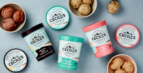 The Space Creative transform Cornish dairy-free ice cream brand Cecily's