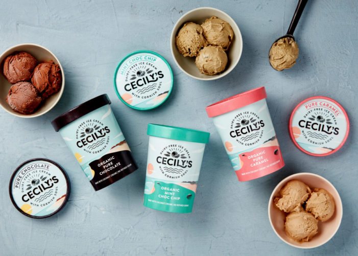 The Space Creative transform Cornish dairy-free ice cream brand Cecily's