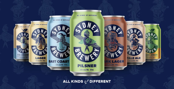 Sydney Brewery's exciting rebrand by Boldinc