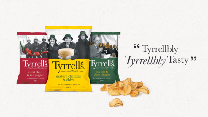 TYRRELLS 'TYRRELLBLY TYRRELLBLY TASTY' Campaign Back On TV At Easter With £1M Investment
