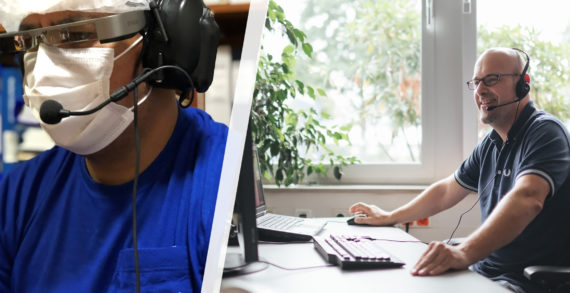 Brazil: SIG innovates with smart glasses for Remote Services at LACBOM