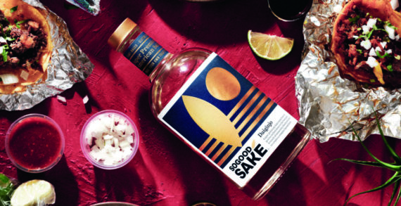 Pearlfisher designs SoGood Saké, introducing the bold, yet simple spirit to American consumers