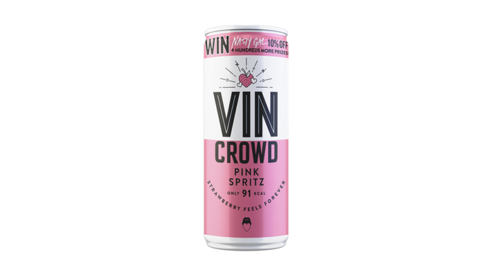 Kingsland Drinks brand Vin Crowd announces collaboration with etailer Nasty Gal