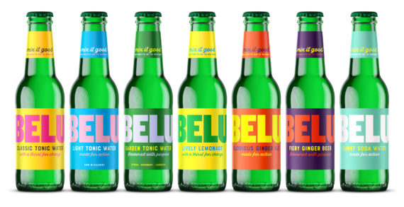 MIX IT GOOD – Belu launches a range of tonics and mixers.