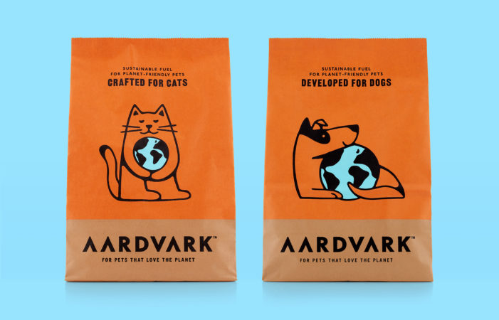 B&B studio creates AARDVARK, a sustainable insect-based pet food designed to grow an engaged community of pet- and planet-lovers.