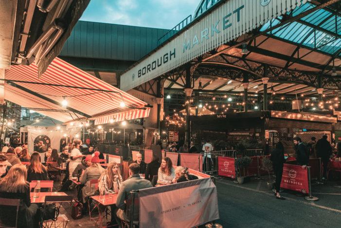 Over 20 Al Fresco Dining Options at Iconic Borough Market