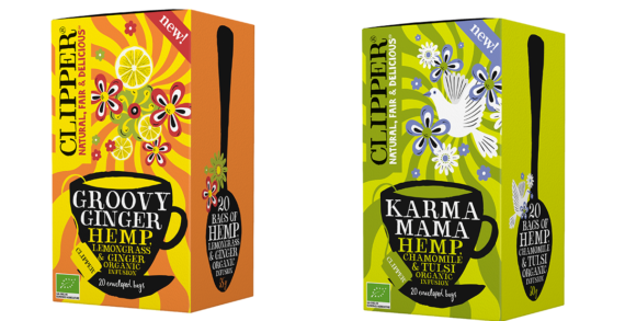 Clipper Teas launches brand-first Organic Hemp Infusions