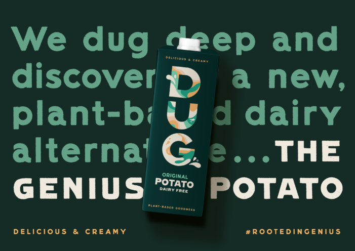 Potatoes in your Coffee? Family and friends dig deep to disrupt the world of dairy alternatives.