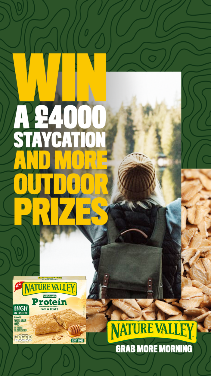 Nature Valley urges UK to 'Grab More Morning' with social campaign