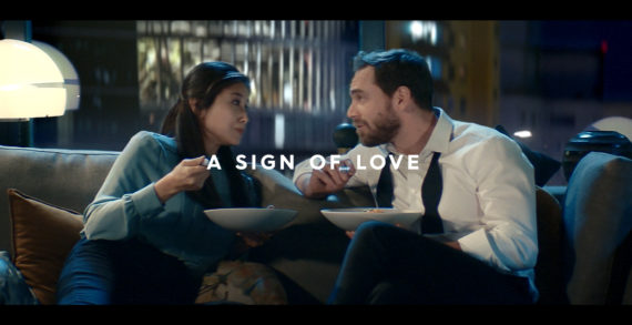 """BARILLA Launches """"A SIGN OF LOVE"""", The New Global Brand Positioned Signed By Publicis Italy."""